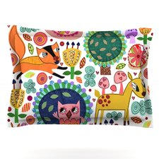 Woodland Critters by Jane Smith Pillow Sham