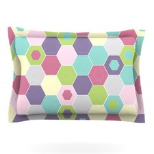 Pale Bee Hex. by Nicole Ketchum Pillow Sham