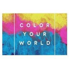 Color Your World Doormat