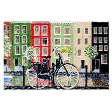 Bicycle by Christen Treat Decorative Doormat