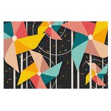 Colorful Pinwheels Doormat