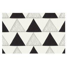 Textured Triangles Doormat