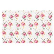 Cross Stitch Flowers Doormat