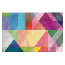 Color Blocking Doormat