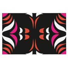 Magenta Hawaiian Retro Doormat