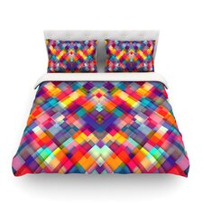 Squares Everywhere by Danny Ivan Light Duvet Cover
