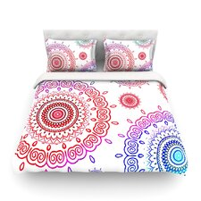 Rainbow Infinity by Monika Strigel Light Cotton Duvet Cover