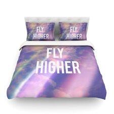 Fly Higher by Rachel Burbee Duvet Cover