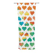 Be Mine Curtain Panels (Set of 2)