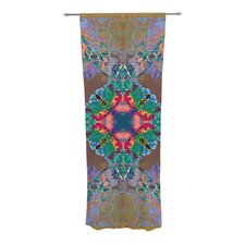 Flowery Curtain Panels (Set of 2)