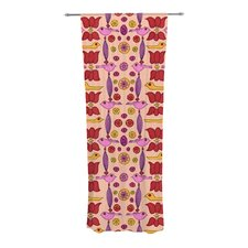 Indian Jewelry Repeat Curtain Panels (Set of 2)
