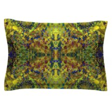 Yellow Jacket by Nikposium Woven Pillow Sham