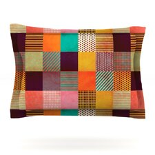 Decorative Pixel by Louise Machado Pillow Sham