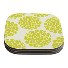 Grape Blossoms by Pom Graphic Design Coaster (Set of 4)