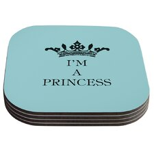 Im a Princess by Louise Machado Coaster (Set of 4)