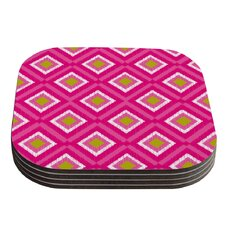 Moroccan Tile by Nicole Ketchum Coaster (Set of 4)