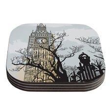 Big Ben by Sam Posnick Coaster (Set of 4)