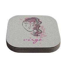 Virgo by Belinda Gillies Coaster (Set of 4)