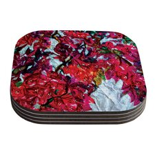 Bougainvillea by Mary Bateman Coaster (Set of 4)