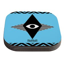 Eye Graphic by Vasare Nar Coaster (Set of 4)