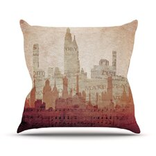 City by Alison Coxon Warm Throw Pillow