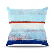 Stripes by CarolLynn Tice Cotton Throw Pillow