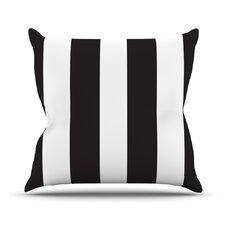 Beetle Cotton Throw Pillow
