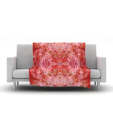 Chili by Nikposium Fleece Throw Blanket