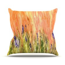 Welcome Spring by Rosie Brown Throw Pillow