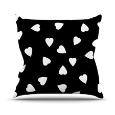 Hearts by Suzanne Carter Throw Pillow