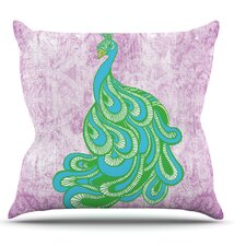 Beauty in Waiting by Geordanna Cordero-Fields Throw Pillow