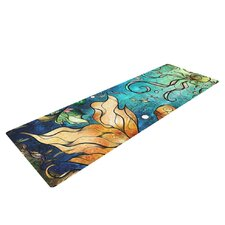 Under the Sea by Mandie Manzano Mermaids Yoga Mat
