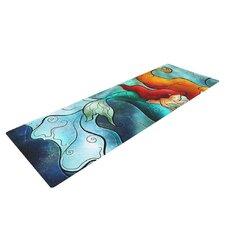 I Remember Love by Mandie Manzano Mermaid Yoga Mat