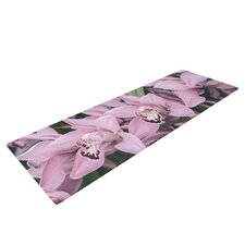 Lots of Orcids by Nastasia Cook Yoga Mat