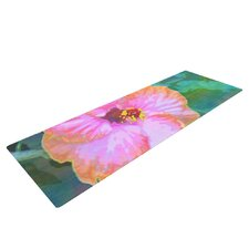 Hibiscus by Sylvia Cook Yoga Mat