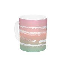 Painted Stripes Pink by Anneline Sophia 11 oz. Ceramic Coffee Mug