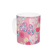 Baroque Butterflies by Anneline Sophia 11 oz. Ceramic Coffee Mug