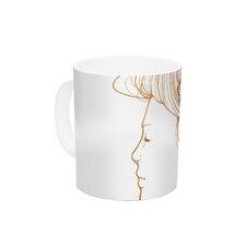 Organic by Jennie Penny 11 oz. Ceramic Coffee Mug