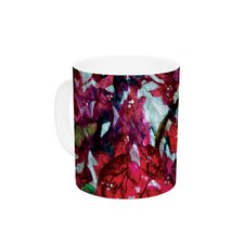 Bougainvillea by Mary Bateman 11 oz. Ceramic Coffee Mug