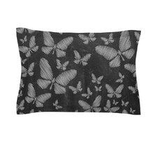 Butterflies III by Snap Studio Chalk Cotton Pillow Sham