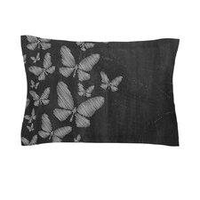 Butterflies IV by Snap Studio Chalk Cotton Pillow Sham
