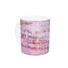 Bittersweet by Iris Lehnhardt 11 oz. Pink Ceramic Coffee Mug