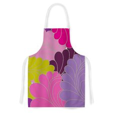 Moroccan Leaves by Nicole Ketchum Artistic Apron