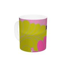 Moroccan Leaves by Nicole Ketchum 11 oz. Ceramic Coffee Mug