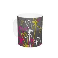 Bohemian III by Nandita Singh 11 oz. Pink Ceramic Coffee Mug