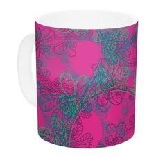 Jaipur Hot Pink by Patternmuse 11 oz. Ceramic Coffee Mug