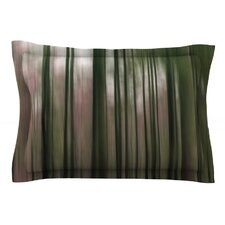 Forest Blur by Alison Coxon Cotton Pillow Sham
