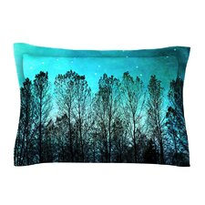 Dark Forest by Sylvia Cook Trees Cotton Pillow Sham