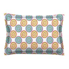 Bombay Dreams by Apple Kaur Designs Cotton Pillow Sham, Green