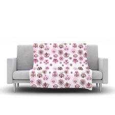 Cute Stuff Fleece Throw Blanket